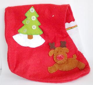 Manualidades para regalar, calcetín para navidad