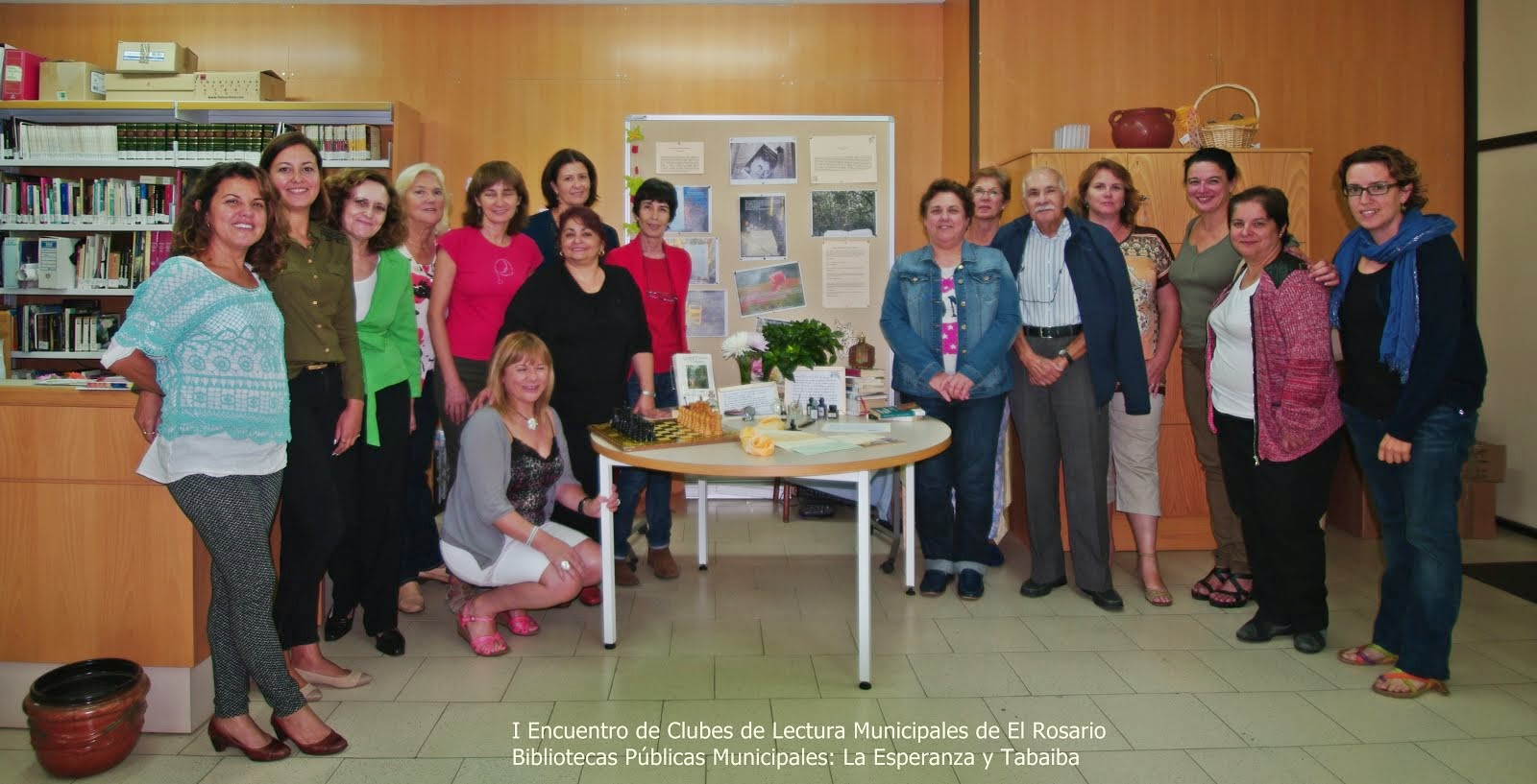 I Encuentro de Clubes de Lectura en El Rosario