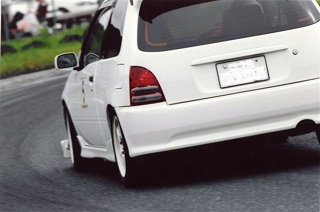 Toyota Starlet, P9, racing, wyścigi