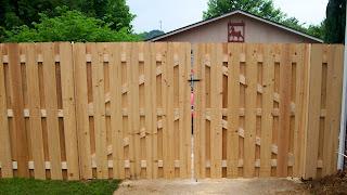 Деревянный забор. Фото 57