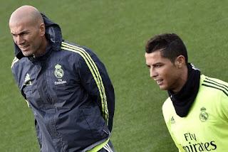 Zidane Turunkan Salah Satu Ilmunya Pada Ronaldo