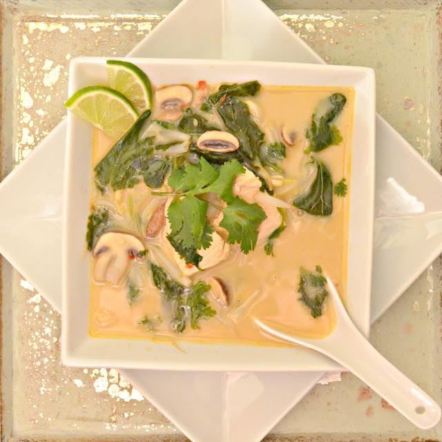 Perfect Fall Soup Recipe Roundup Thai Chicken Coconut Soup