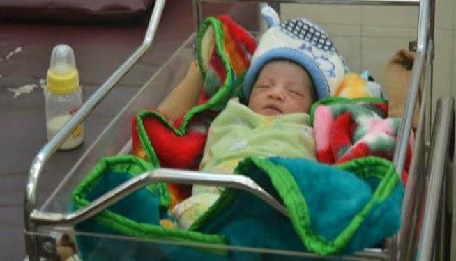 Ditemukan Bayi di Jalan Candi Mendut Tulusrejo Malang