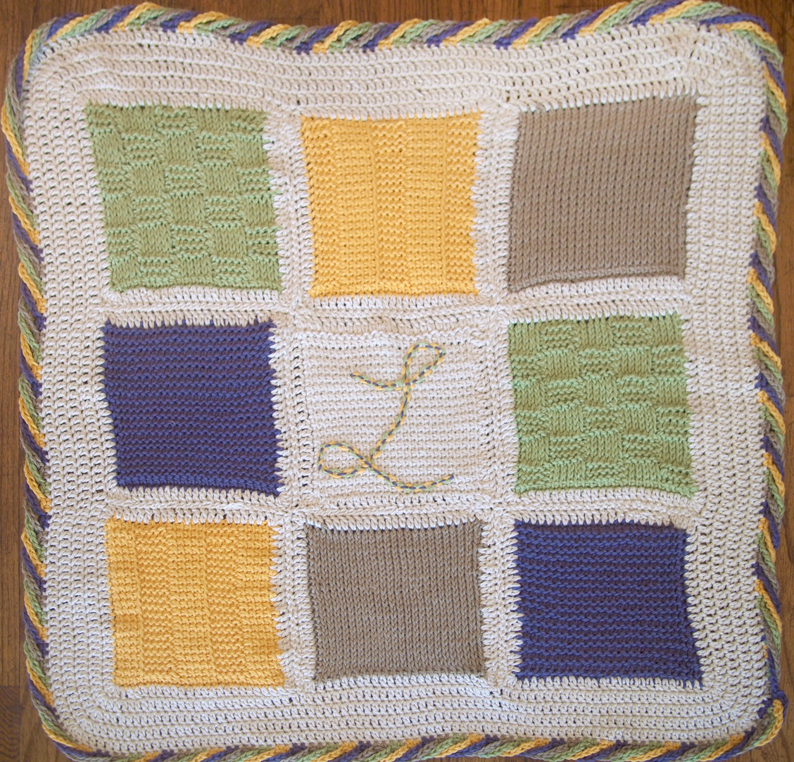 Fancy Tiger Crafts: Cat\'s Tunisian Baby Blanket