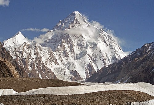 K2 (Qogir) 8611m (28250ft) Pakistan / China