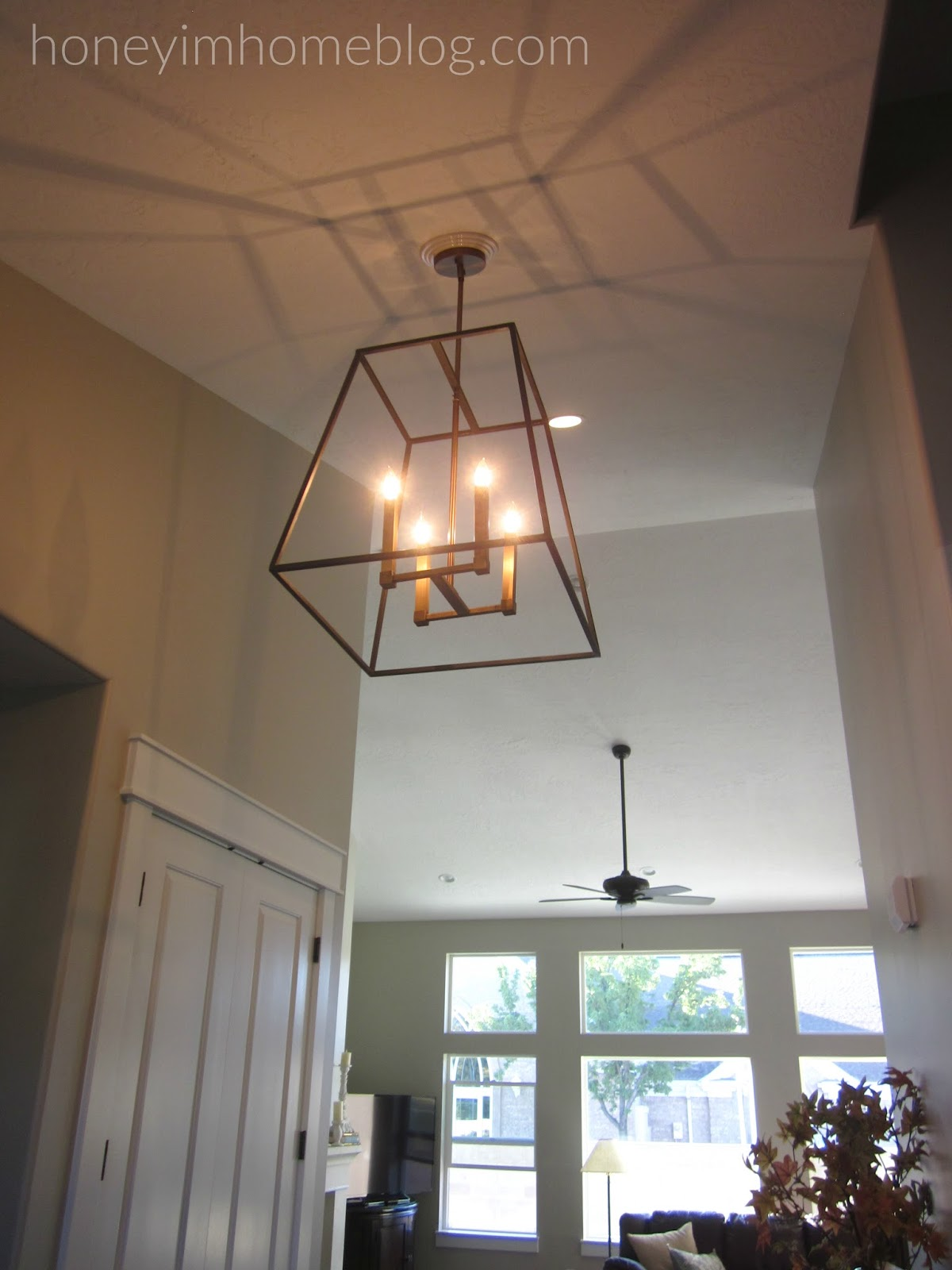 Foyer Lighting Quotes : Honey i m home wheadon house the entry way