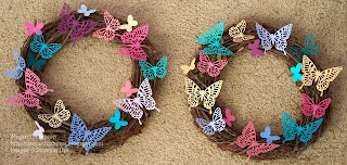 Butterfly Grapevine Wreath