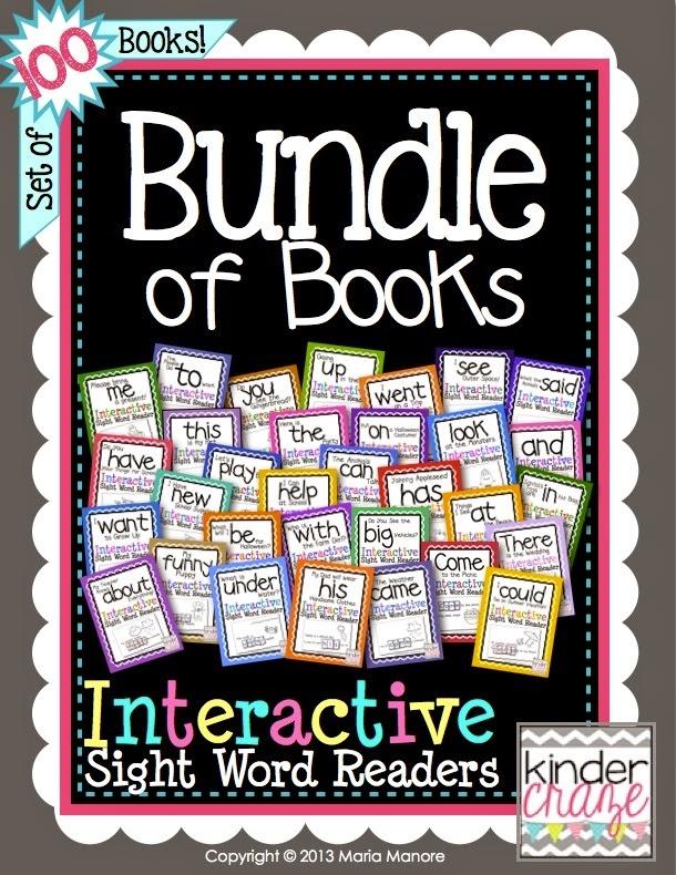 Bundle of Books… over 100 emergent readers in a MEGA bundle