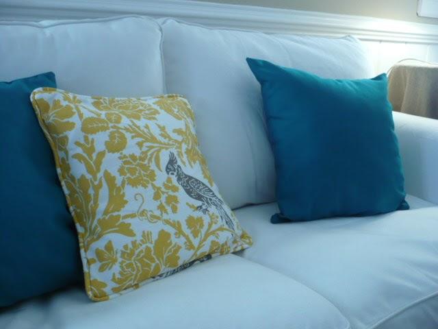 Westhampton DIY: Easy Throw Pillows