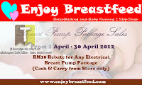 Enjoy Breastfeed Sale 2012