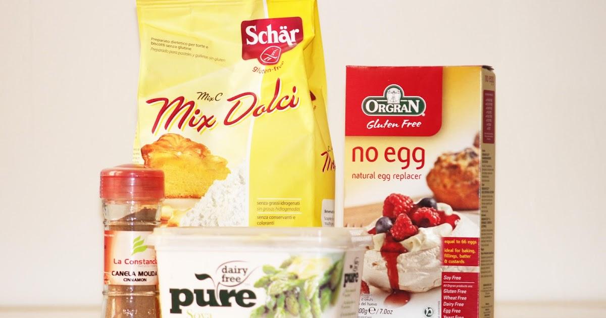 Cocinar con alergia al huevo, trigo, leche y derivados