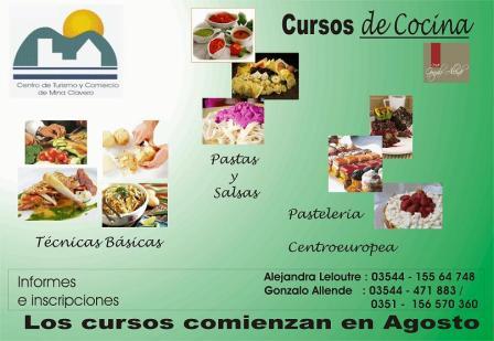 Informarte mina clavero cursos de cocina 2011 for Curso cocina basica
