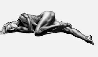 Cuerpos Rostros Desnudos-lapiz