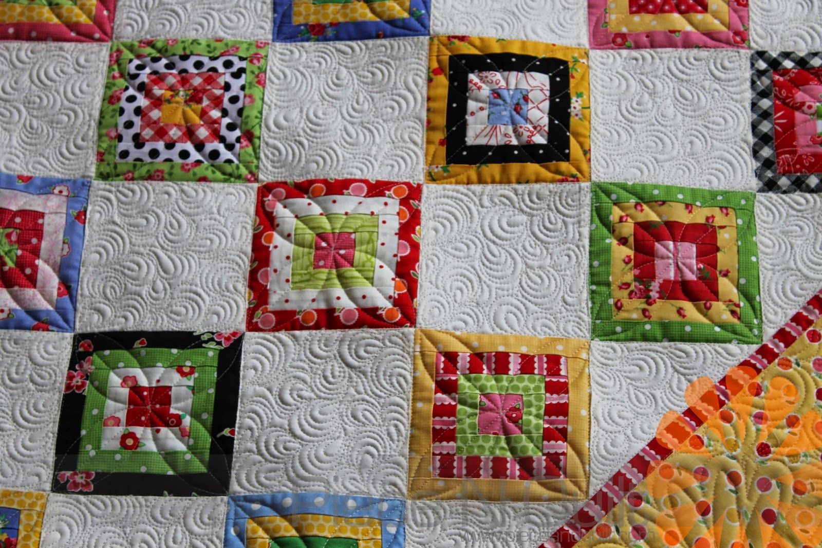 Piece N Quilt Tiny Blocks Custom Machine Quilting By Natalia Bonner