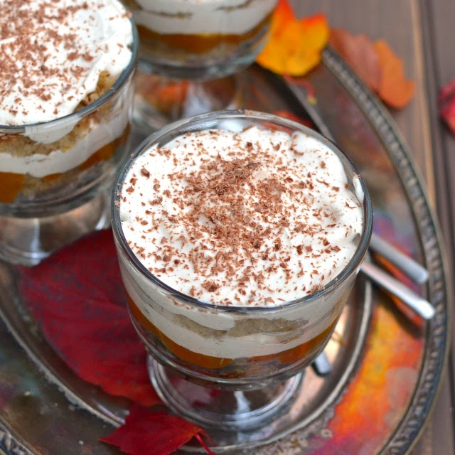 Pumpkin Tiramisu (Eggless Recipe)