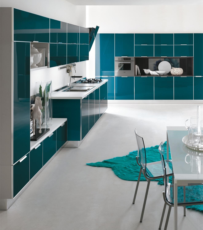 Colore pareti cucina grigia : colori pareti cucina bianca e grigia ...
