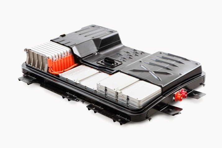 Nissan Leaf Battery (Credit: Nissan) Click to enlarge.