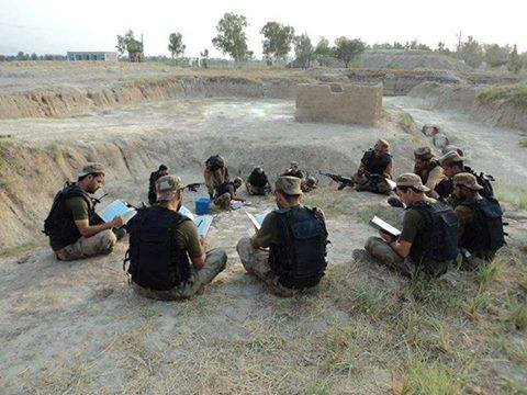 Pakistan Army Soldiers Reciting Quran Before Operation