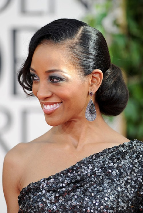 Side Bun Hairstyles for Black Women