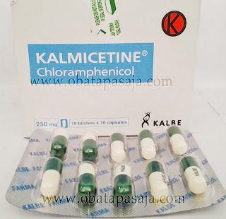 Komposisi Dosis dan Harga KALMICETINE (Kloramfenikol)