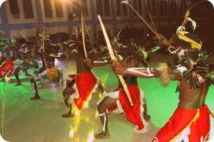 Tarian Perang Warnai Hari Pattimura ke 198 di Wamena