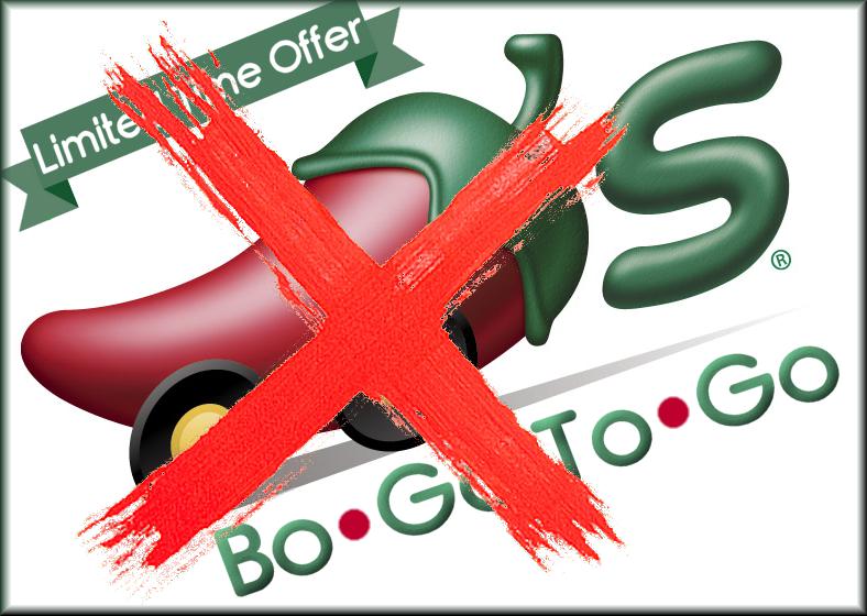 BoGo ToGo Logo No Go