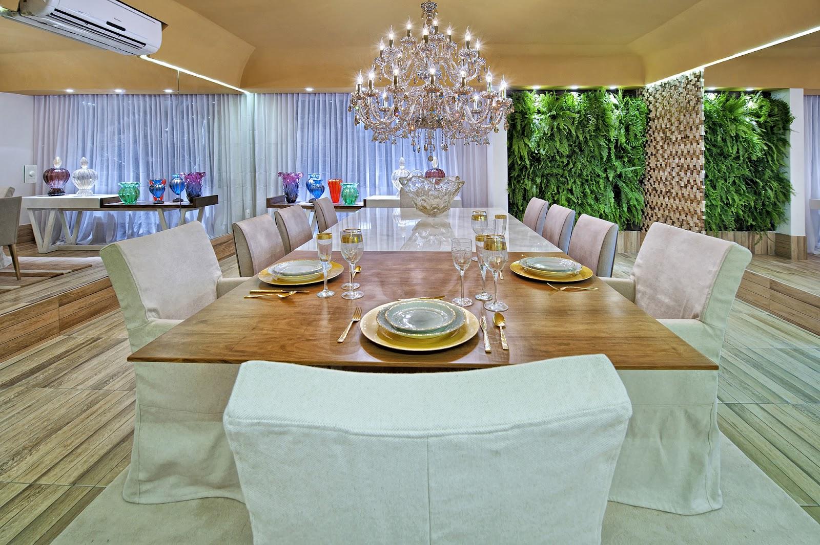 Sala de jantar design de interiores