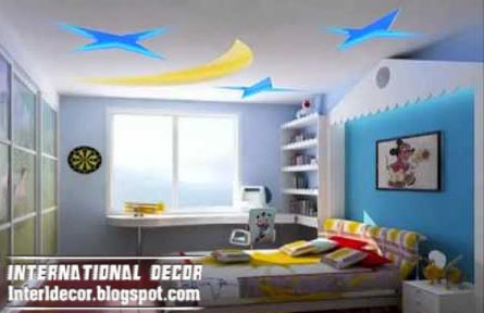 Best Creative Kids Room Ceilings Design Ideas, Cool Ceiling Moon And Stars  Style