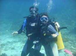 scuba diving in bali, glass bottom boat, turtle island tour, diving in tanjung benoa
