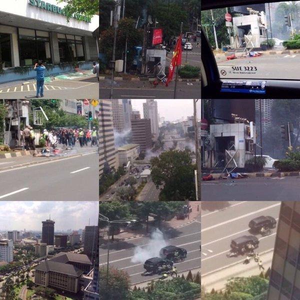 Image: Jakarta terror attacks