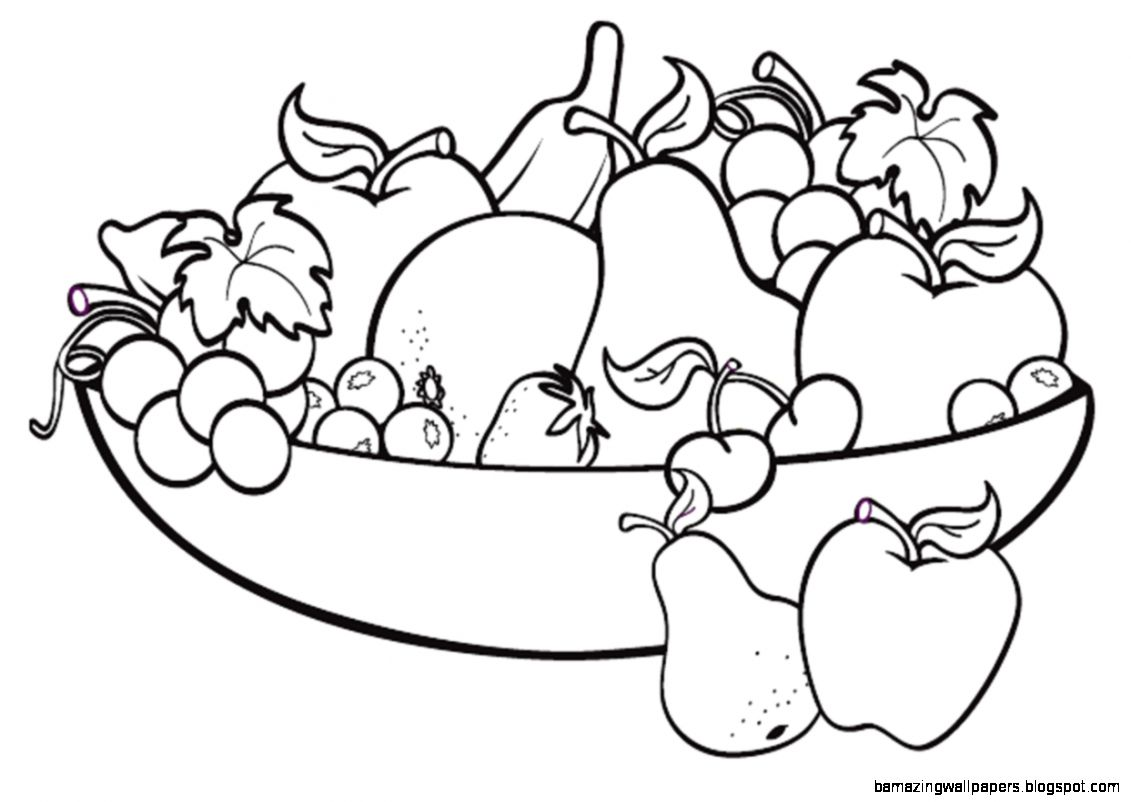 Fruit Bowl Drawing For Kids Clipart   Free to use Clip Art Resource
