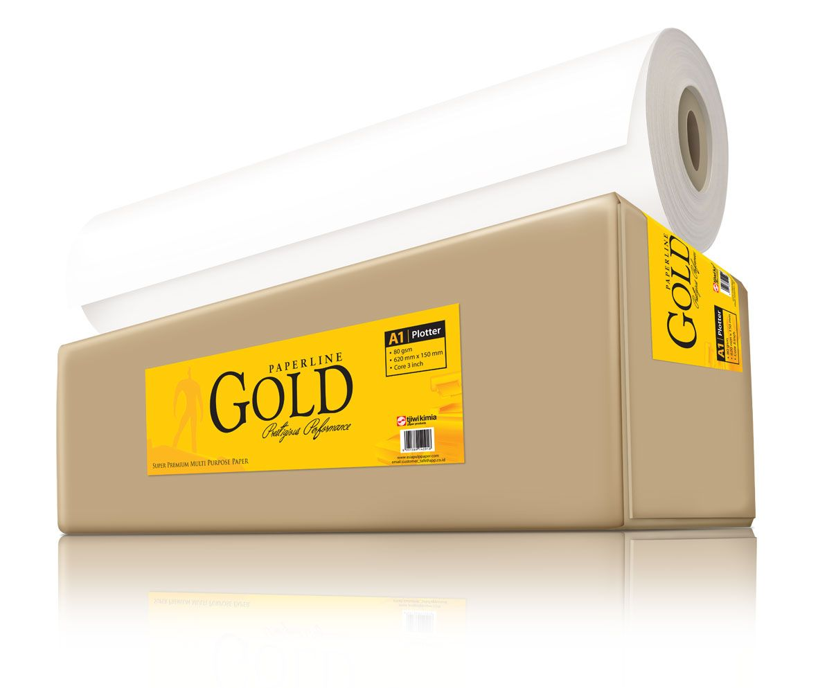 Kertas Plotter Paperline Gold