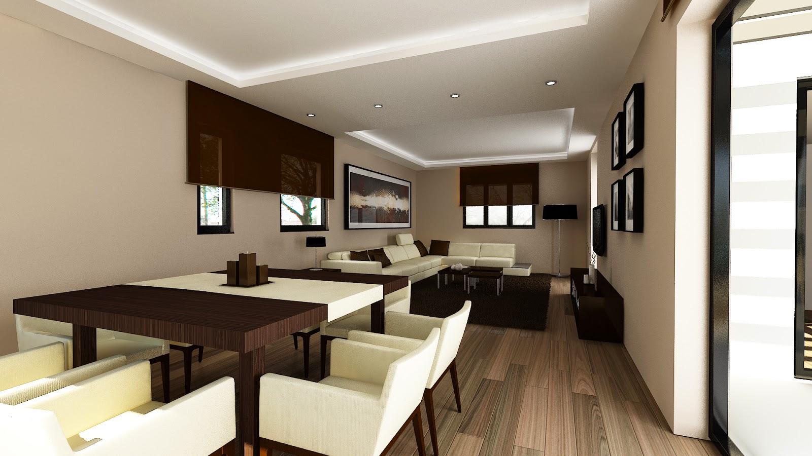 Salón vivienda modular Resan