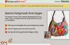 Background Burner: eliminar el fondo de una imágen online