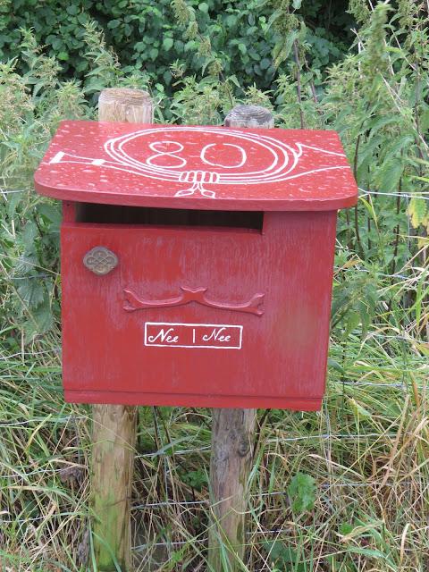 Postkastl - Briefkasten - Brievenbus