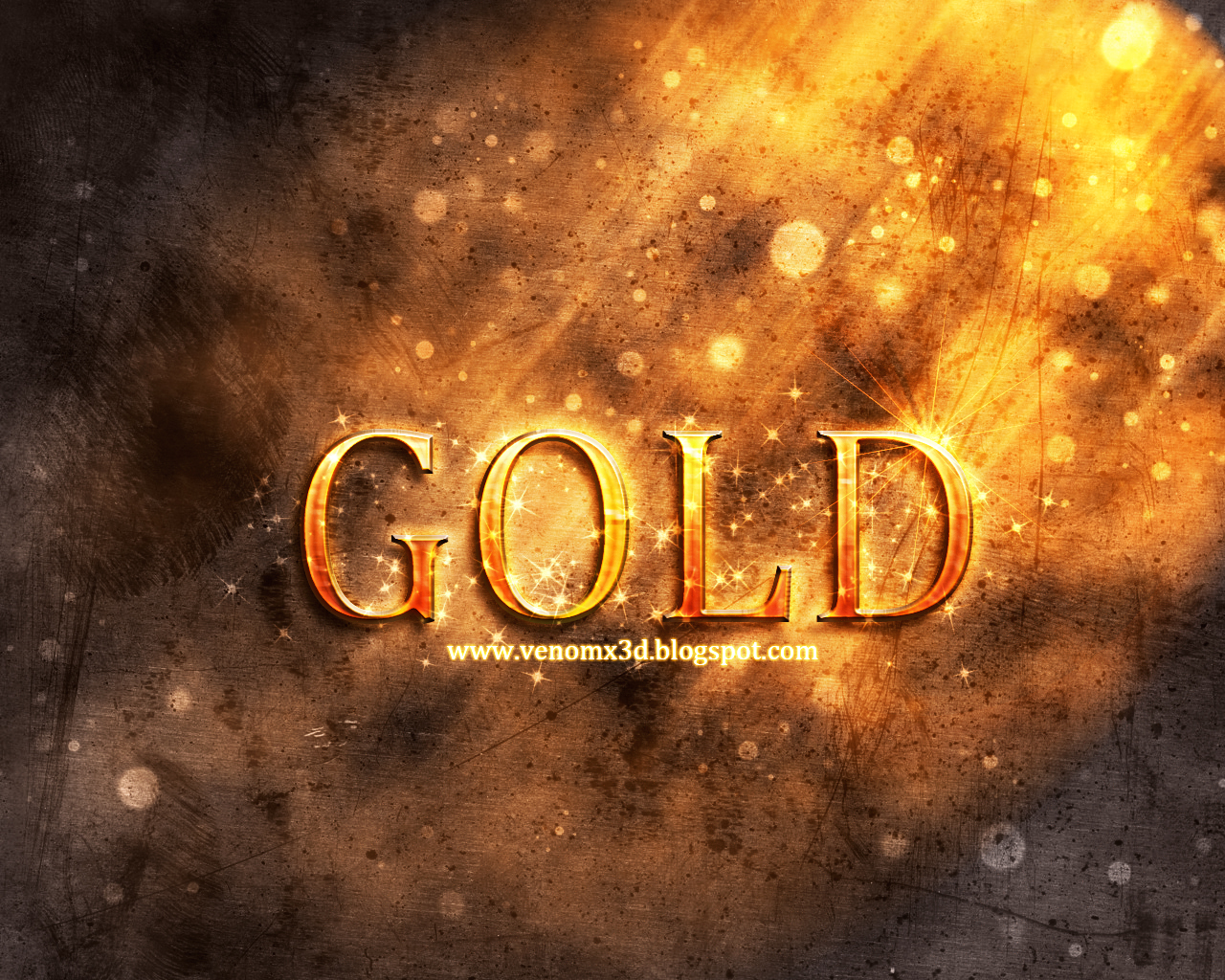 V3n0ms 2d and 3d art gold text in photoshop gold text in photoshop tutorial result baditri Gallery