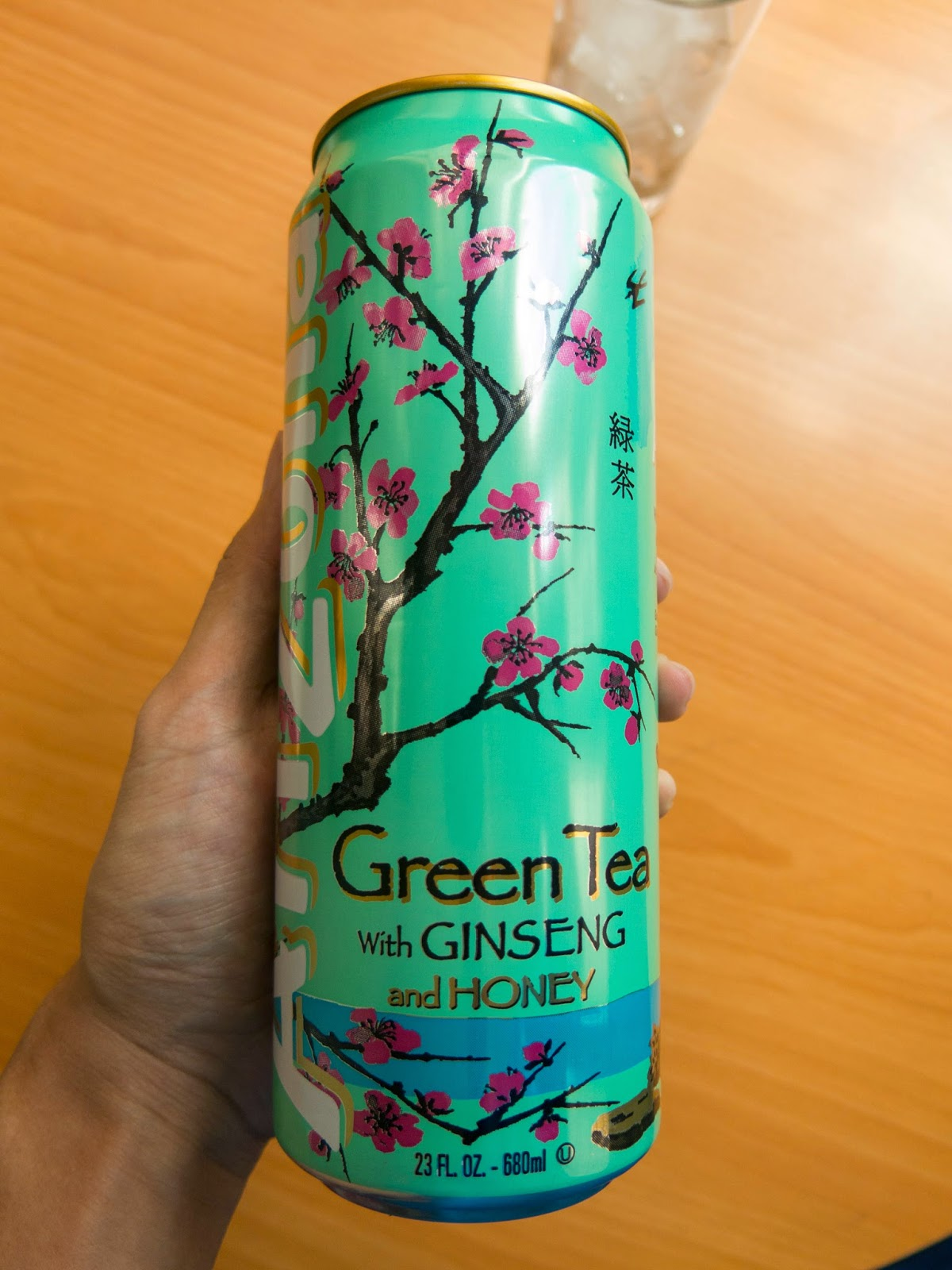close up of arizona green tea
