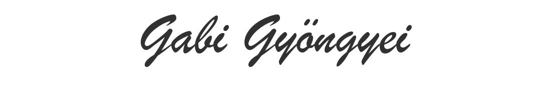 Gabi Gyöngyei