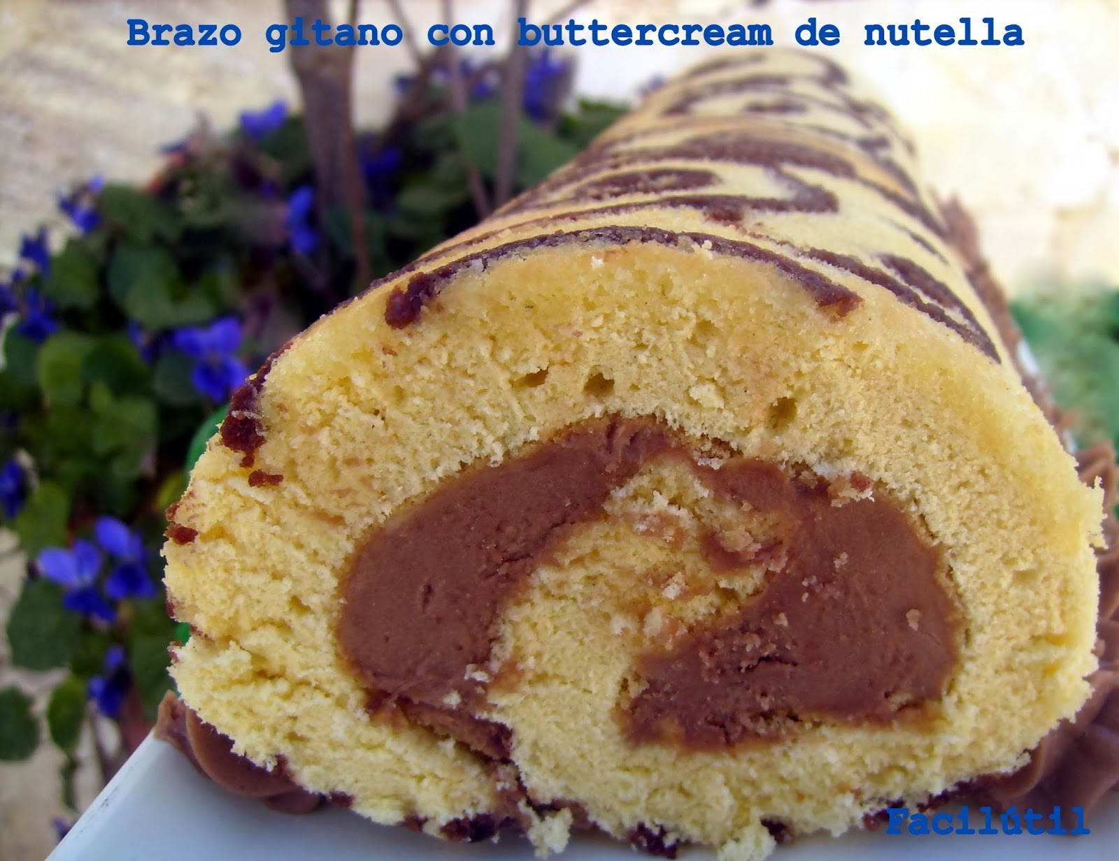 brazo-gitano-decorado-con-buttercream-de-nutella