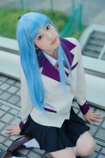 Kanade Tachibana from Angel Beats Cosplay