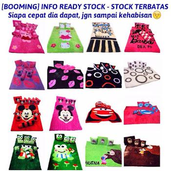INFO READY STOCK TERBATAS