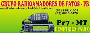 GRP - Grupo de Radioamadores de Patos-PB - 145.230 - Dup (-)