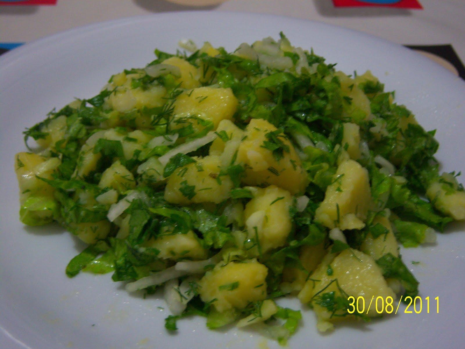 Lorlu Taze Patates Salata