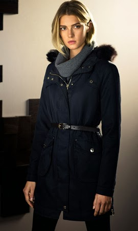 Massimo Dutti mujer invierno parkas