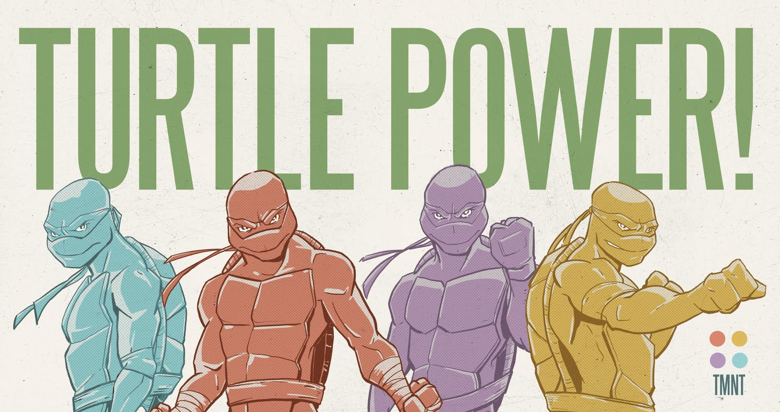 Turtle+Power by Adam Limbert