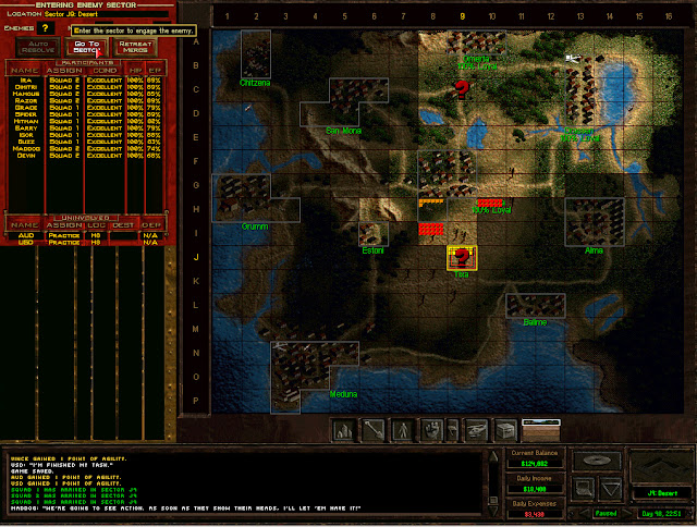Jagged Alliance 2 - Attacking Tixa Step by Step Description