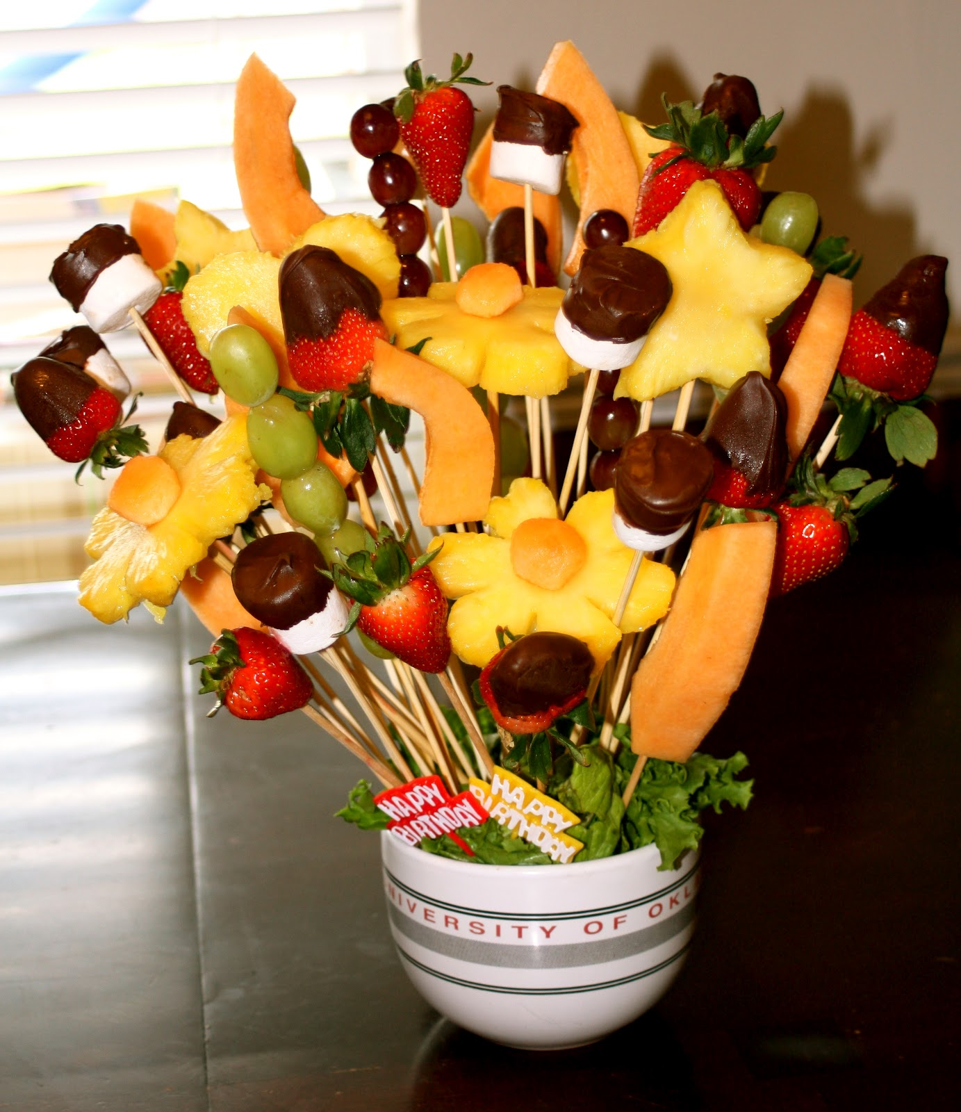 Deliliah designs fruit bouquet Fruit bouquet