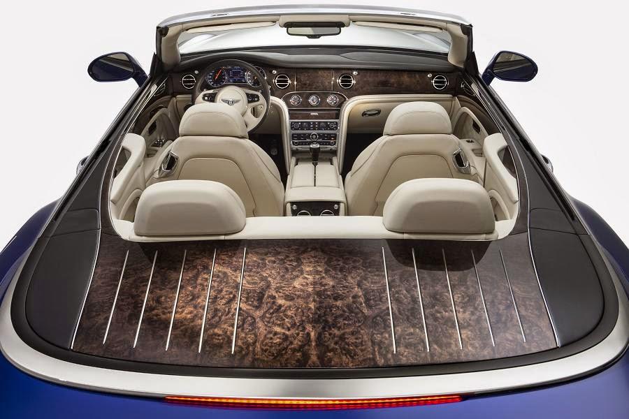 Bentley Grand Convertible Concept (2014) Interior