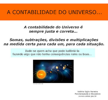 A contabilidade do Universo