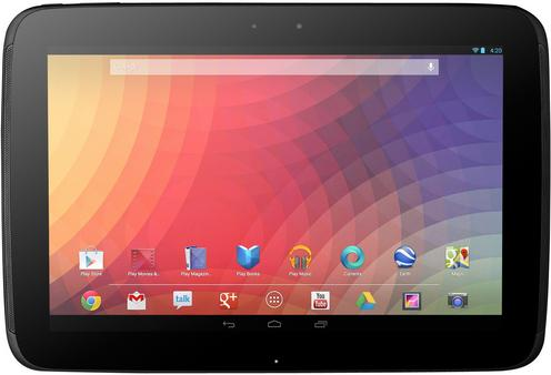 Google Nexus 10 vs Asus Transformer TF701T Specs Comparison
